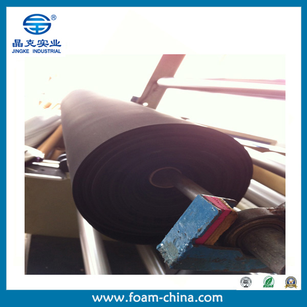 Jingke Black CR chloroprene rubber neoprene Foam Sheet
