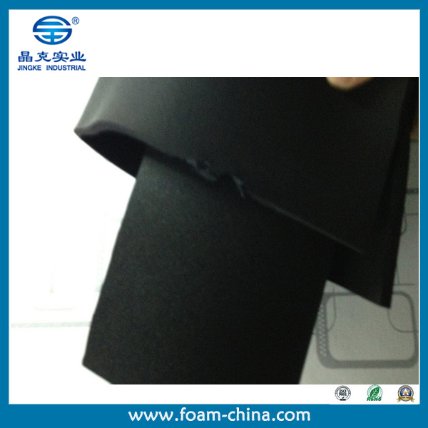 Jingke High Elastic CR chloroprene rubber neoprene Foam Sheet